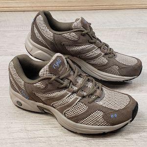 Ryka Sport Walker Tan Brown Walking Sneaker